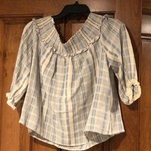 Lucky Brand Flowy Shirt